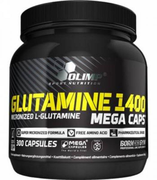 Olimp Glutamine 1400 Mega Caps , 300 Caps