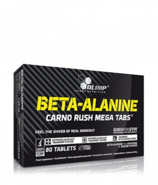 Olimp Beta-Alanine Carno Rush Mega Tabs , 80 Tabs