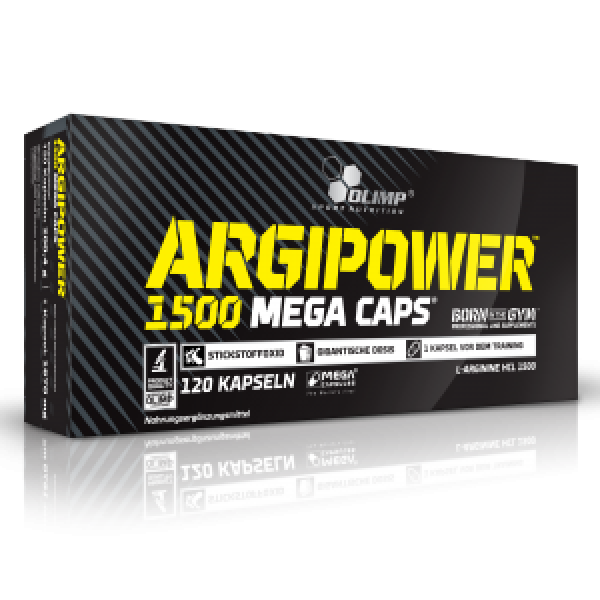 Olimp Argi Power 1500 Mega Caps , 120 Caps