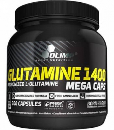 Olimp Glutamine 1400 Mega Caps , 300 Caps